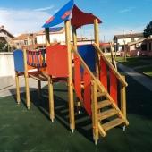 Nuovo parco giochi accessibile anche ai disabili a Nurachi (OR)