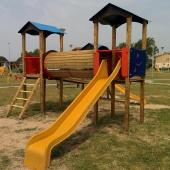 Fine lavori di manutenzione al parco giochi di Santa Giusta (OR)
