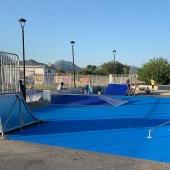 Rampe e arredi per skatepark Olbia